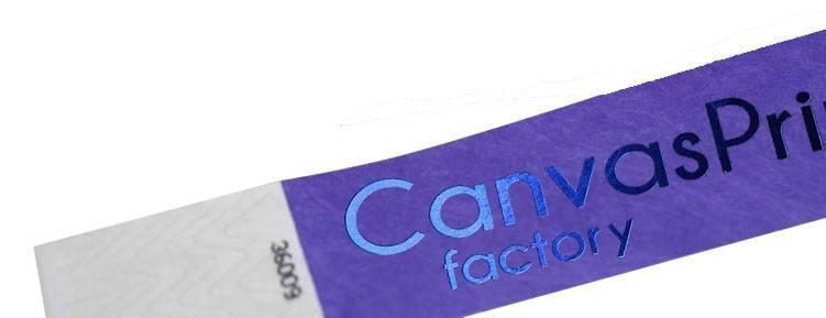 a14549fcfd25 Pulseras Tyvek impresión stamping - Imprenta Gandía